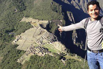 Machupicchu & Huaynapicchu Mountain 2D
